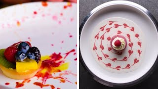 How to Garnish a Plate! | Plate Decorating Ideas and Hacks by So Yummy