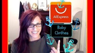 AliExpress Haul - Baby Clothes