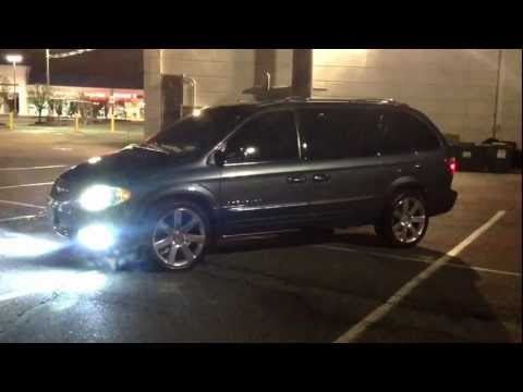 srt8 rims on a chrysler town and country pt2