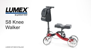 Lumex S8 Knee Walker Youtube Video Link