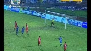 Arema Vs Persija 10  InterIsland Cup  13 Januari 2014 HD