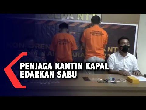 Penjaga Kantin Kapal Ditangkap Edarkan Dan Konsumsi Shabu