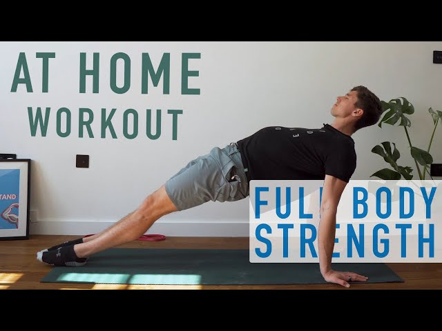 *No Equipment* Bodyweight Strength Workout | Day 1 [At Home Program]