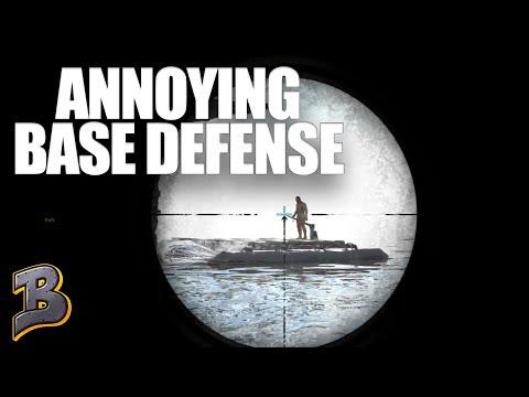 Annoying Base Defense! Ark Survival Evolved PvP -The Island- Ep 15
