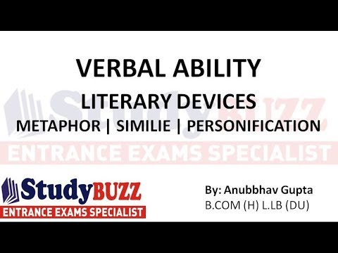 Verbal HACKS 1 - How to solve literary devices question in Verbal section?