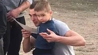 """МБДОУ Детский сад №11 """"Светлячок"""" Спортивное развлечение """"Вместе с папами"""""""