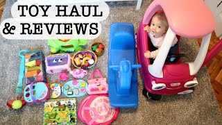 ONE YEAR OLD BIRTHDAY PRESENT TOY HAUL & REVIEWS | Gift Ideas For One Year Old | Best Toddler Toys