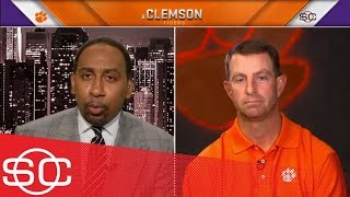 WATCH: Dabo and Stephen A. Smith discuss Quarterbacks