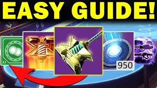 Destiny 2: ULTIMATE Season of the Chosen Guide! - Hammer Upgrades - H.E.L.M. - & More!
