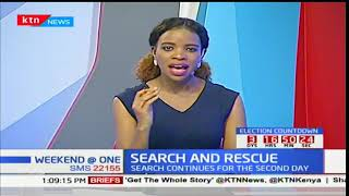 DEVELOPING STORY: Parts of the chopper that crashed into Lake Nakuru have been found