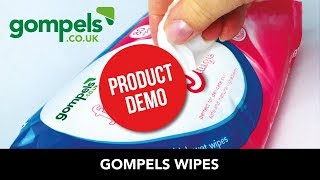 Product Demo - Gompels Wipes