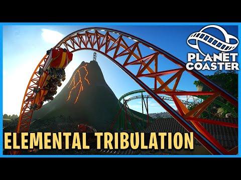 Elemental Tribulation! Planet Coaster: Coaster Spotlight 751