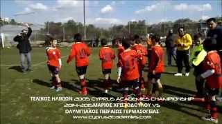 preview picture of video 'ΤΕΛΙΚΟΣ ΗΛΙΚΙΩΝ 2005 CYPRUS ACADEMIES CHAMPIONSHIP'