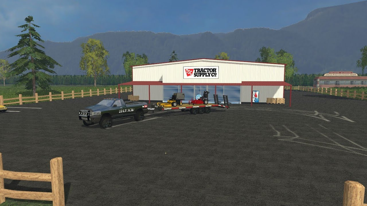 Lawn Care Map V 1 0 Mod For Farming Simulator 2015 15