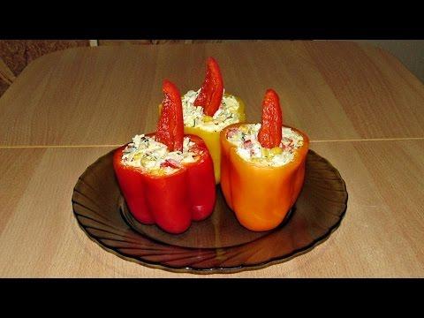 Салат с копченым колбасным сыром