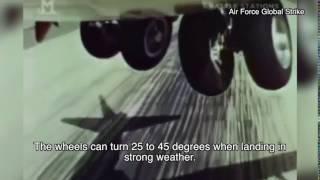 Wheels of B52 Bomber