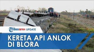 Kereta Api di Blora Anjlok, PT KAI Operasikan Jalur Tunggal