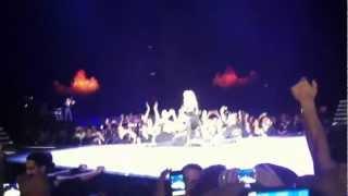 Madonna - Gand Bang and Papa Don't Preach (live in Ramat Gan, Israel)
