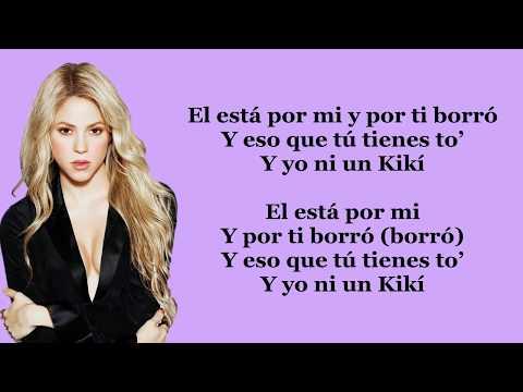 Shakira - Loca (Spanish version) ft. El Cata (Lyrics/Letra)