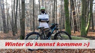 E-Bike-Vlog #21 E-Biken im Winter / Mythos Akku-Schutzhülle