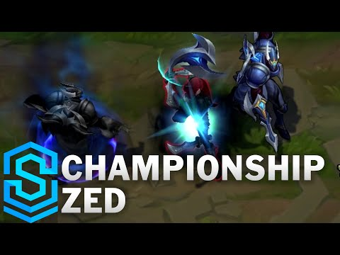 Championship Zed Skin Spotlight - League of Legends