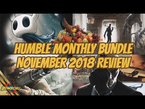 Humble Monthly Bundle | November 2018 Review Mp3