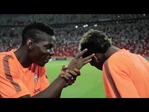 Juventus on tour – Keep your eye on the ball!