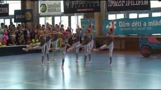 25. 3. 2012 - Jarní pohár: Děti v akci - skupina C aerobic II B
