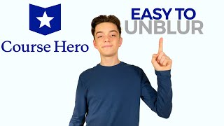 How to UNBLUR answers on Course Hero