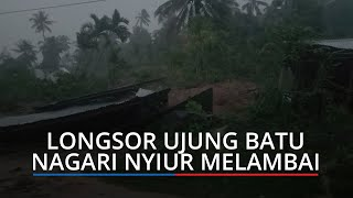 Longsor Susulan Kembali Terjadi di Nyiur Melambai Kecamatan Ranah Pesisir, Masih Banyak Tanah Retak