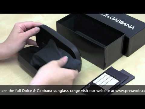 Dolce & Gabbana Sunglass Unboxing