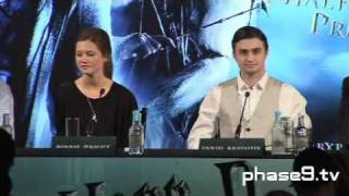 Harry Potter And The Half-Blood Prince - London Press Conference - Part 6 Of 10