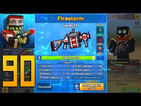 Pixel Gun 3D - Gameplay Walkthrough Part 90 - Firestorm