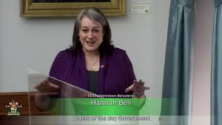 Response to the Speech from the Throne – 2021 – Part Two (MLA Hannah Bell)