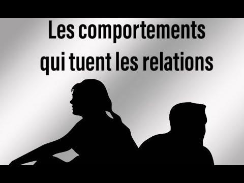LES COMPORTEMENTS QUI TUENT LES RELATIONS |T.BEN| RELATION sur Coach Fitness