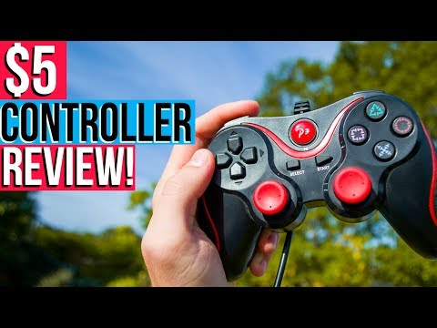 Cheap PC Controller Review! | $5 PC Controller!  | Harrison Broadbent