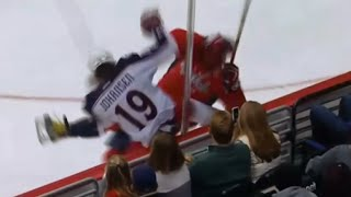 Johansen Gets Revenge on Ovechkin With a Big Hit
