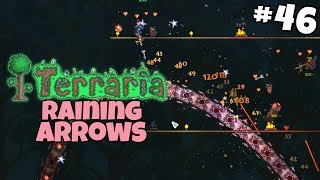 Raining Holy Arrows on The Destroyer - Terraria Gameplay - Part 46