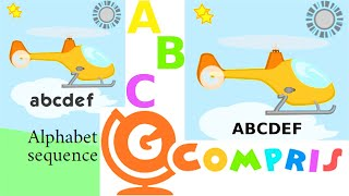 Gcompris Educational Software For Kids On GNU Linux   Teaching Alphabet Letters Sequence And Order