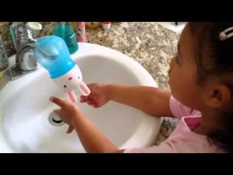 Make Hand Washing Easier For Your Kid By Reusing A Sippy Cup