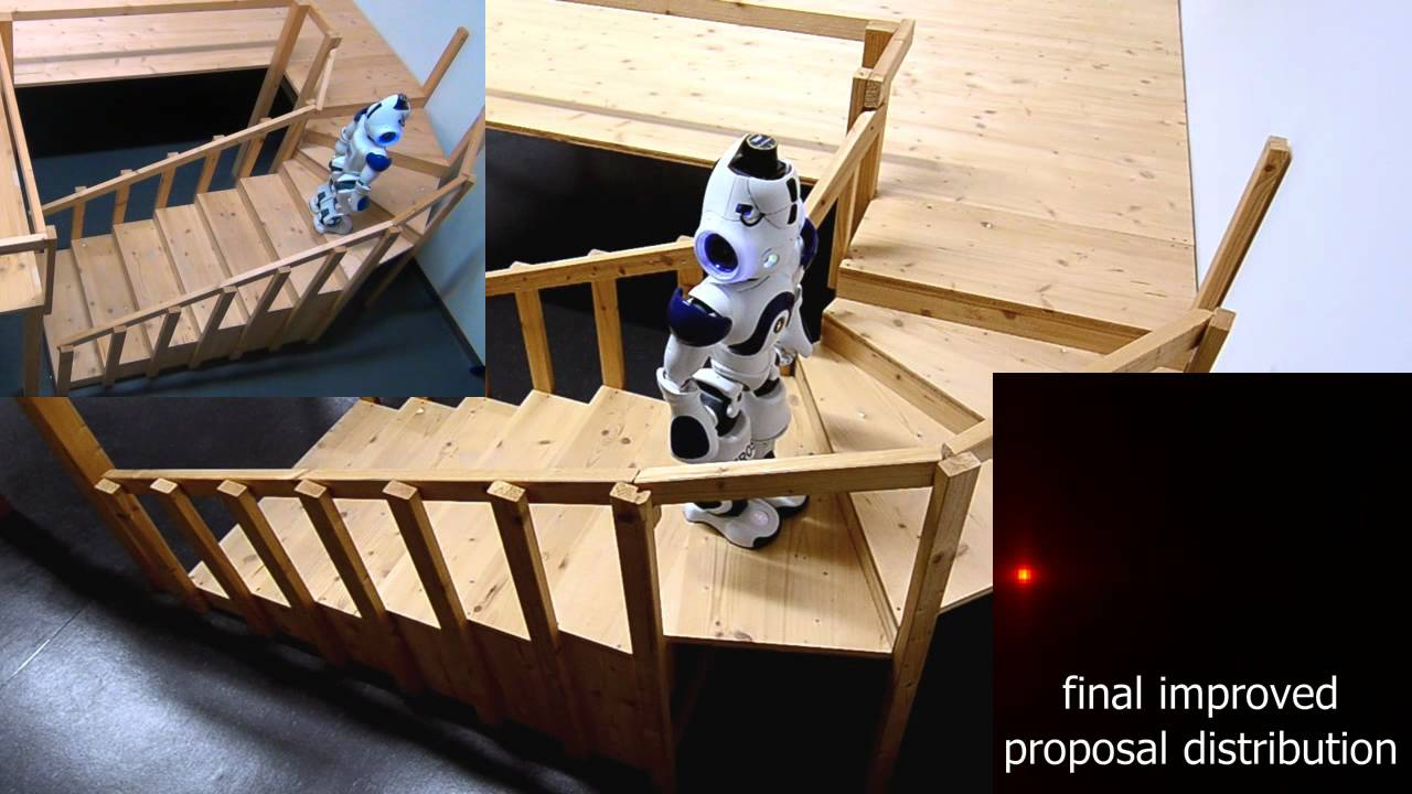 Be Afraid: Robots Can Now Climb Stairs Unaided