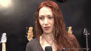 Gretchen Menn NAMM Interview