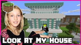 Look At My House  Minecraft