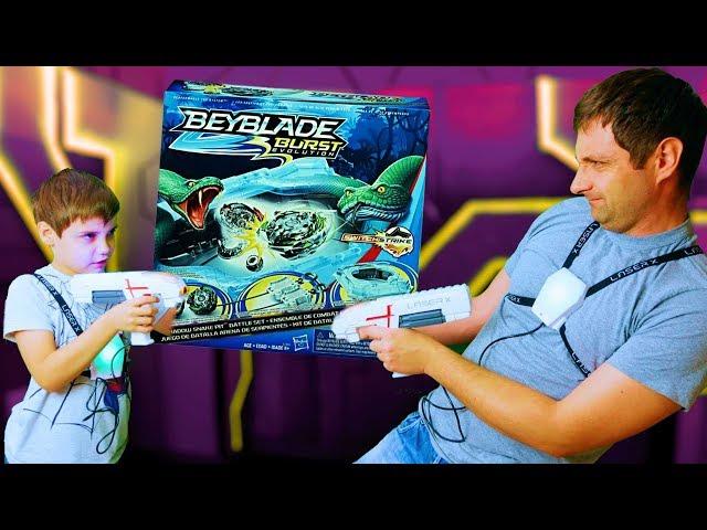 Ігровий Набір Для Лазерних Боїв - Laser X Для Двох Гравців