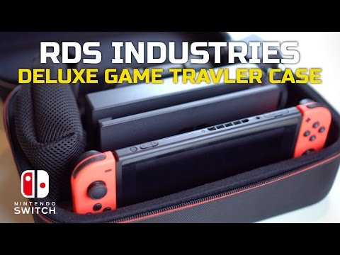 The Best Nintendo Switch Travel Case + Nintendo Switch Giveaway!