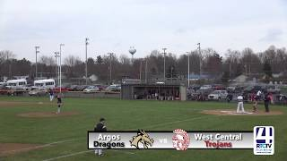 Argos High School Baseball vs West Central