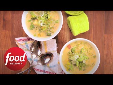 Healthified Broccoli Soup   Food Network