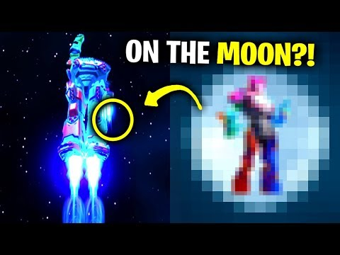 I Glitched In SPACE To Find ROBOT.. (Fortnite)