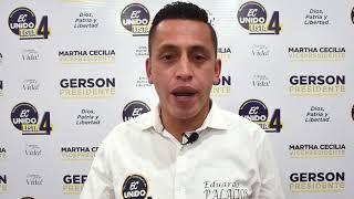 Eduardo Palacios, Candidato Asambleísta Nacional del Ecuador 2021.
