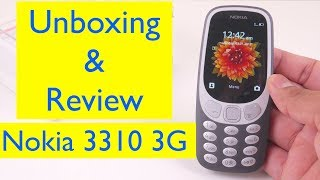 Nokia 3310 3G (2017) - Unboxing and Review